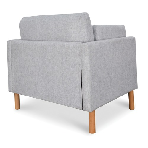 Harper & Hindley Dende Upholstered Ash Wood Armchair