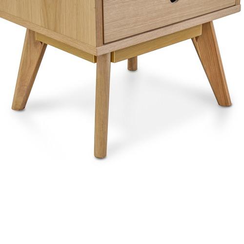 Harper & Hindley Celestina Scandi Oak Wood Side Table