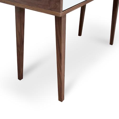 Harper & Hindley Louie Scandinavian-Style Narrow Wood Console Table