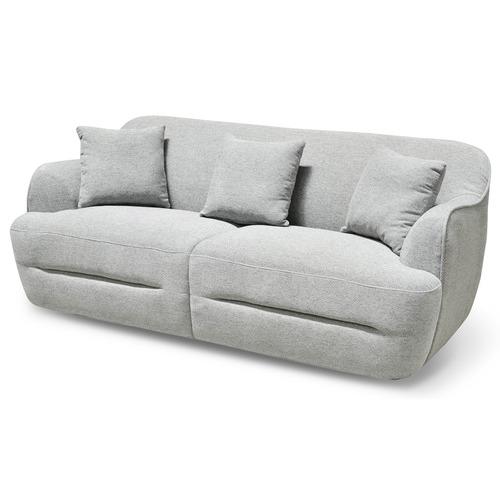 Harper & Hindley Light Grey Serena 3 Seater Sofa
