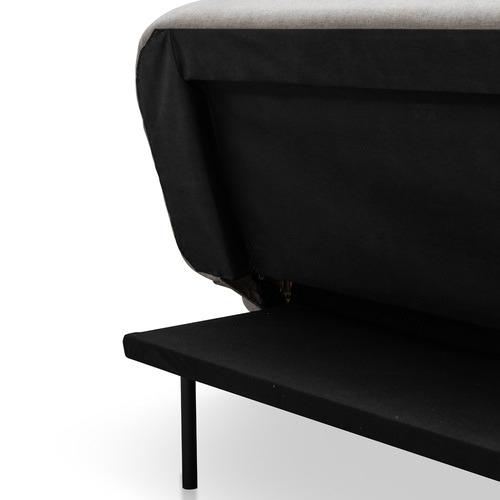 Harper & Hindley Grey Danton 3 Seater Click Clack Sofa Bed