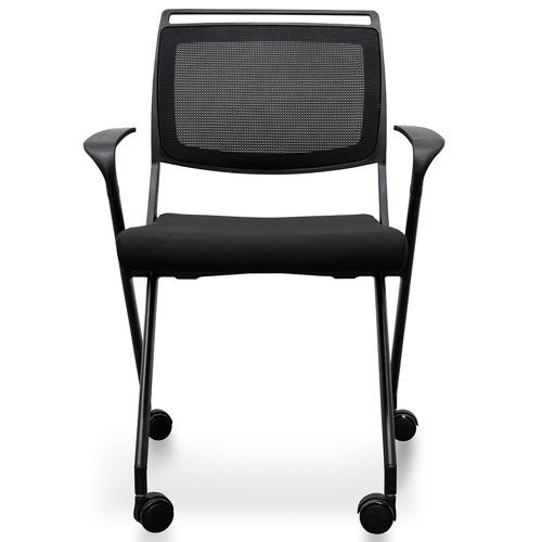 Harper & Hindley Black Konarske Foldable Visitor Chair