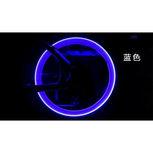 Set of 2 Blue LED Bicycle Wheel Lights