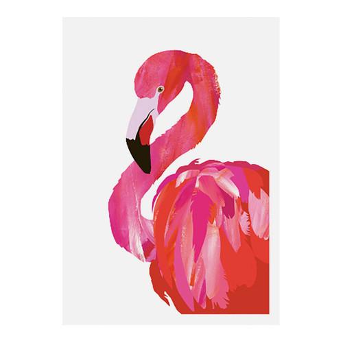 Design Mondo Fancy Flamingo Wall Art