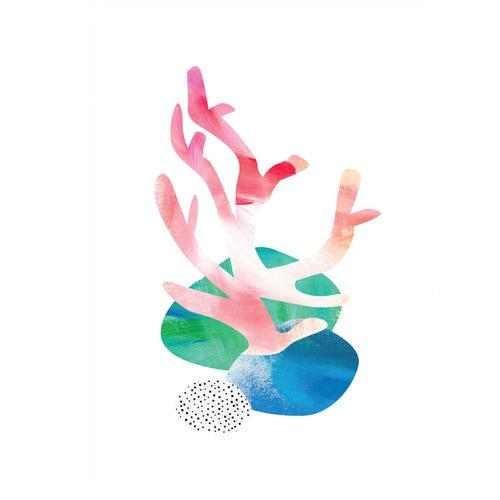Design Mondo Coral Seas Printed Wall Art