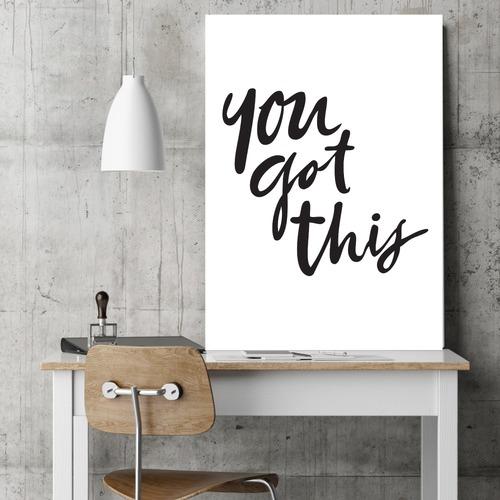 Design Mondo You Got This Unframed Paper Print