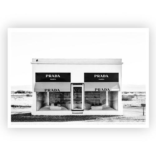 Design Mondo Prada Marfa Unframed Paper Print