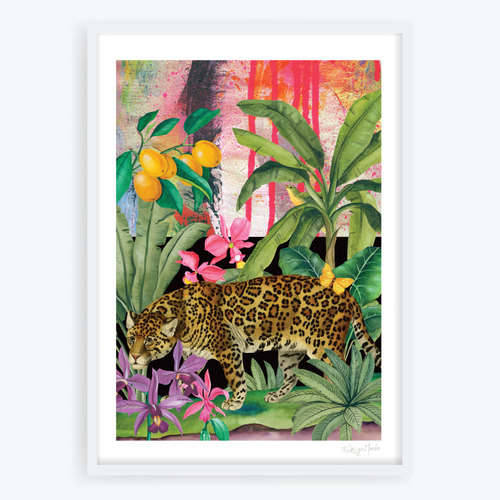 Design Mondo Phantasmagoria Leopard Printed Wall Art