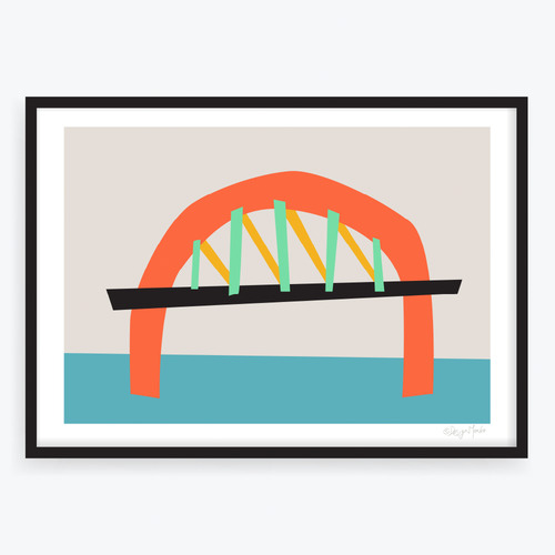 Design Mondo The Bridge Printed Wall Art