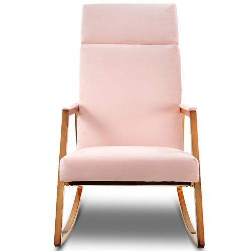 Incy Interiors Sybilla Velvet Rocking Chair