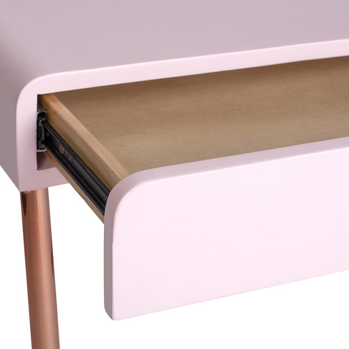 Incy Interiors Pink Estelle Wooden Desk
