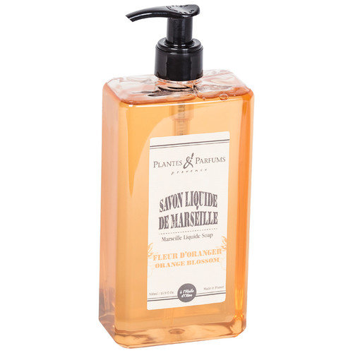 Plantes & Parfums Marseille Orange Blossom Liquid Soap