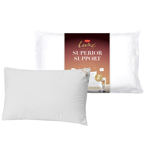 Tontine Superior Support Cotton High & Firm Pillows
