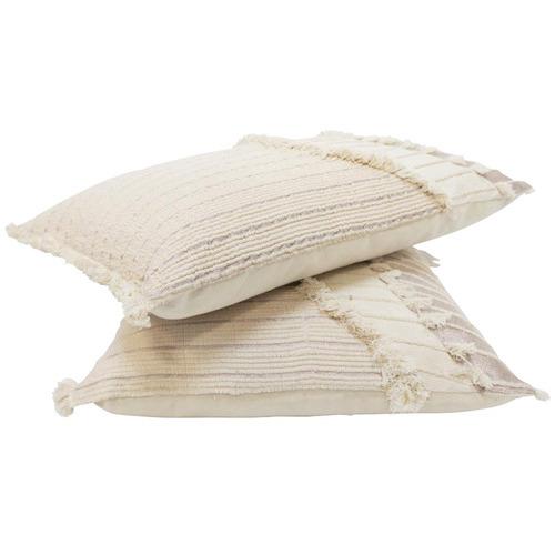 Robert Mark Cream Indah Cotton Cushion
