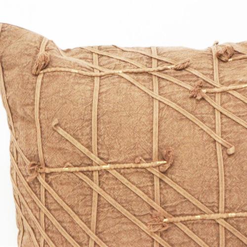 Robert Mark Warm Rust Dewi Cotton Cushion