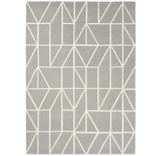 Scion Grey Viso Hand-Tufted Wool Rug