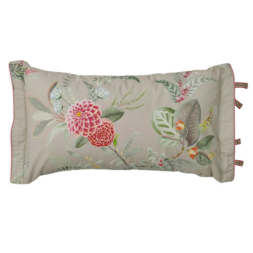 Pip Studio Floris Rectangular Cotton Cushion