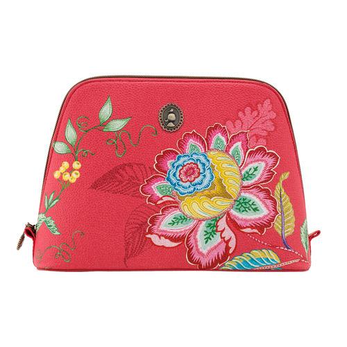 Pip Studio Large Jambo Flower Triangle Beauty Bag