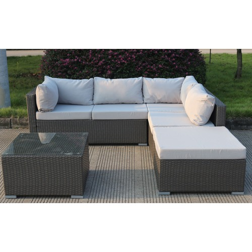 Lifestyle Direct Wholesalers Levanzo Super Modular with Chaise & Table