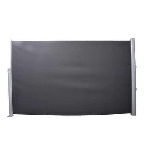 Retractable privacy side screen sunshade temple webster for Retractable privacy screen