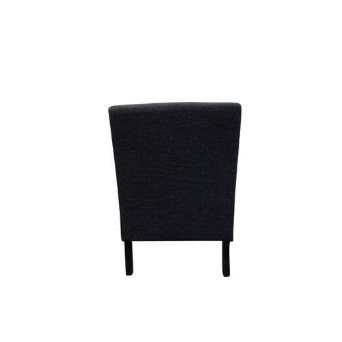 Lifestyle Direct Wholesalers Archer Classic Accent Fabric Chair with Cushion