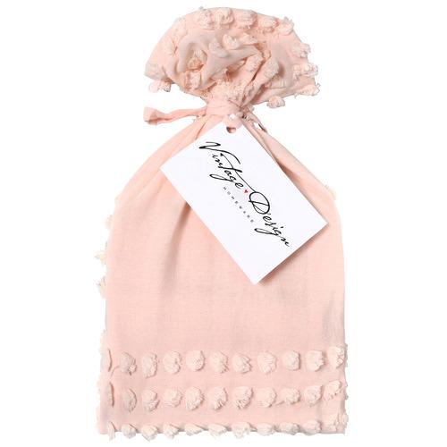 Vintage Design Blush Betty Cotton European Pillowcase