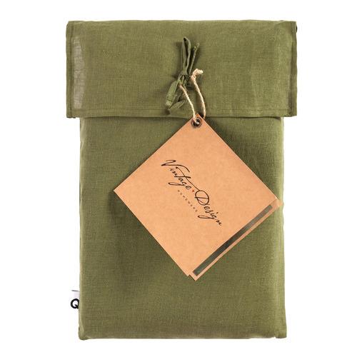 Fern Hemp Quilt Cover Set