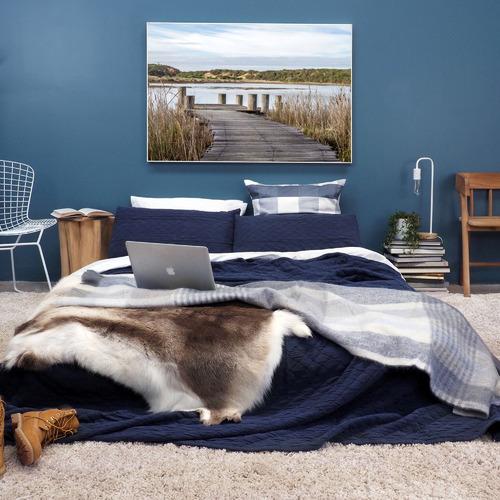 Amelia Anderson Coastal Wetlands Printed Wall Art