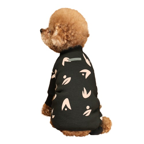 Huts and Bay Wing Dog Onesie