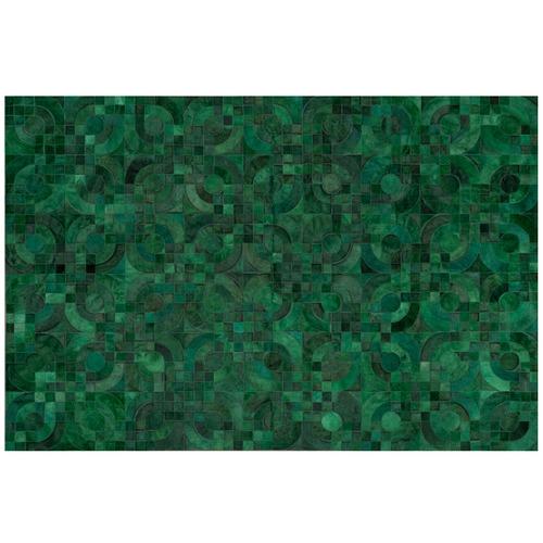 Art Hide Green Optico Rug