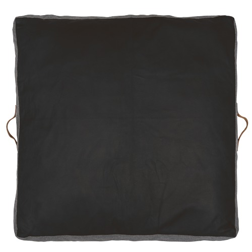 Amigos de Hoy Square Leather Floor Cushion