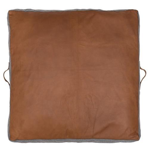 Square Leather Floor Cushion
