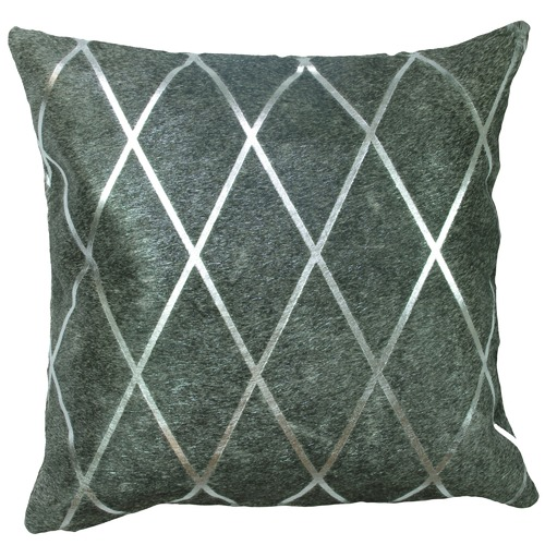 Amigos de Hoy Harlequin Cow Hide Cushion