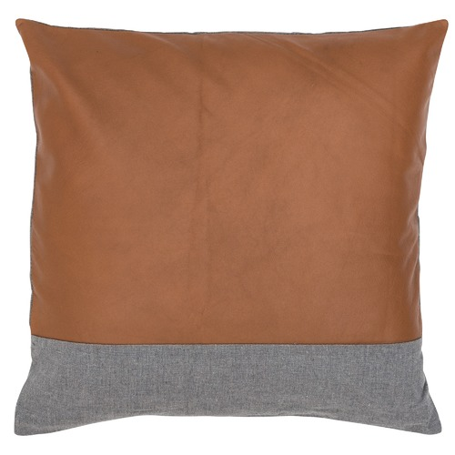 Amigos de Hoy Leather & Linen Stripe Cushion