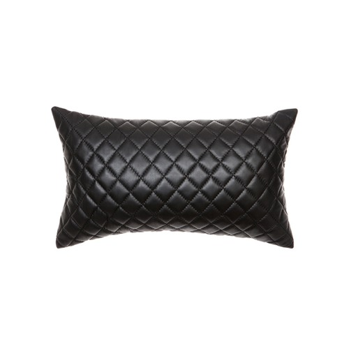 Amigos de Hoy Quilted Pages Rectangular Leather Cushion