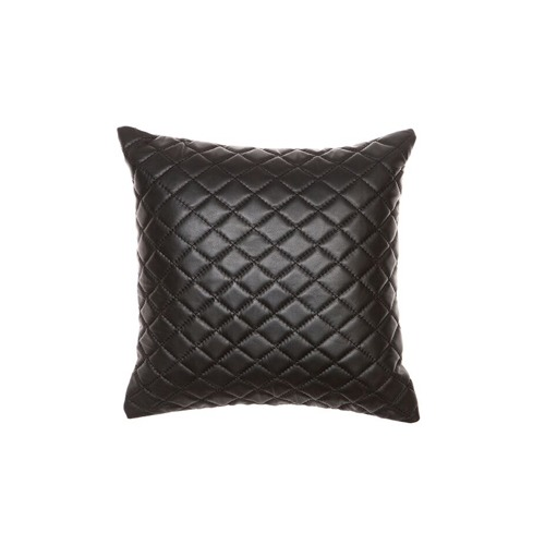 Amigos de Hoy Quilted Pages Leather Cushion