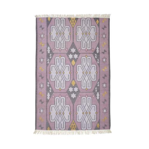 Amigos de Hoy Lilac Mystics Cotton Dhurrie Rug