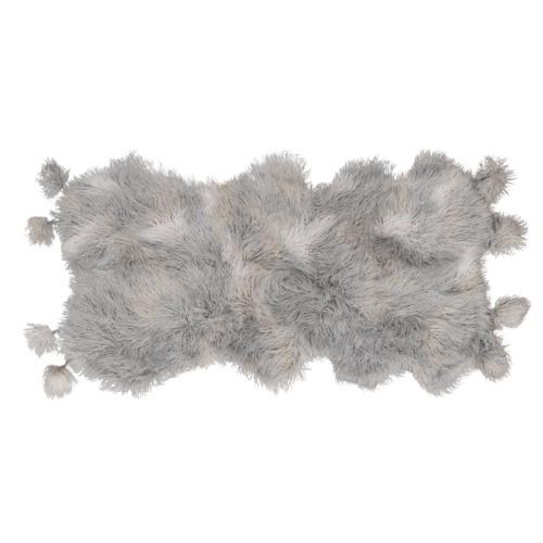 Amigos de Hoy Smoke Fluffelbuster Faux Fur Throw