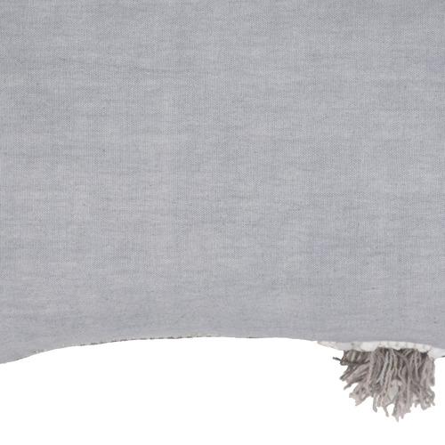 Amigos de Hoy Grey Tembo Rectangular Cotton Cushion