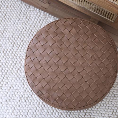 Amigos de Hoy Cream Karma Weave Wool-Blend Rug