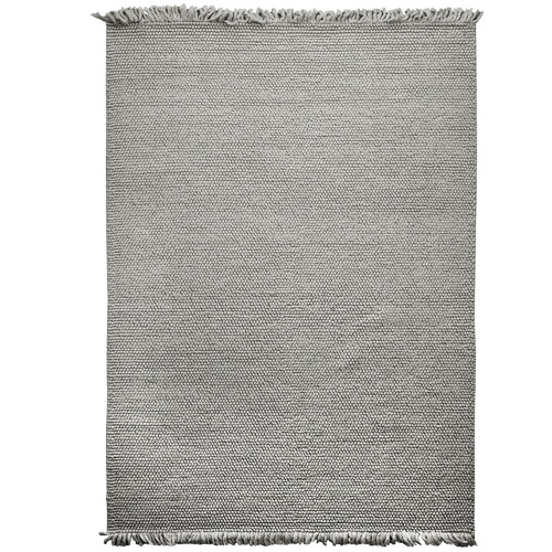 Amigos de Hoy Grey Karma Weave Wool-Blend Rug