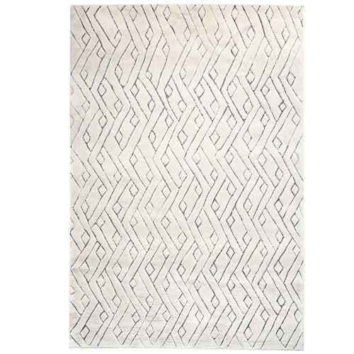 Amigos de Hoy Cream Rebel Weave Wool-Blend Rug