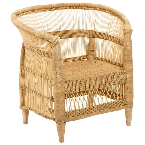 Ashanti Design Malawi Natural Wicker Arm Chair