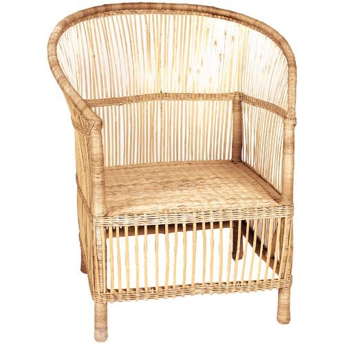 Ashanti Design Sungwe Natural Wicker Arm Chair
