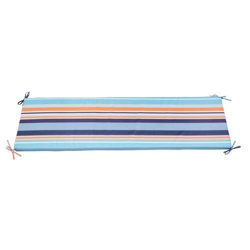Zumo Multistripe Coastal Bench Outdoor Cushion