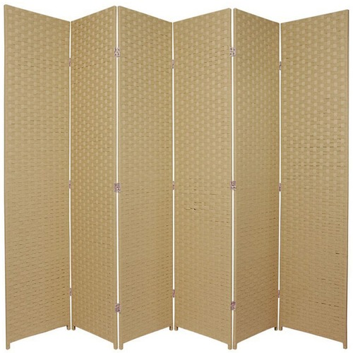 Excellent 6 Panel Woven Room Divider Screen Download Free Architecture Designs Embacsunscenecom