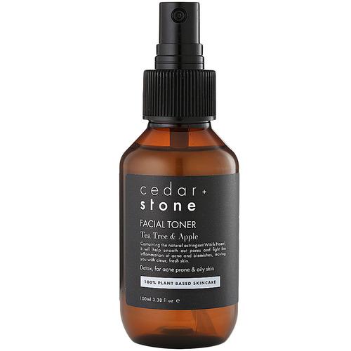 Cedar + Stone Tea Tree & Apple Face Toner