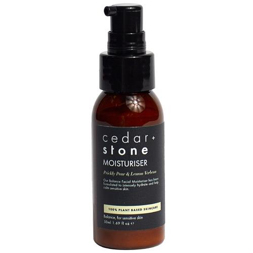Cedar + Stone Prickly Pear & Lemon Verbena Face Moisturiser
