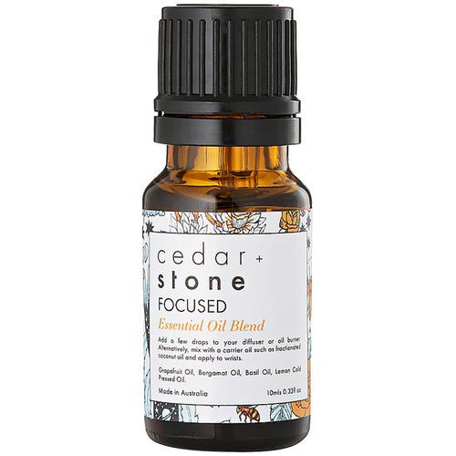 Cedar + Stone Focussed Essential Oil Blend
