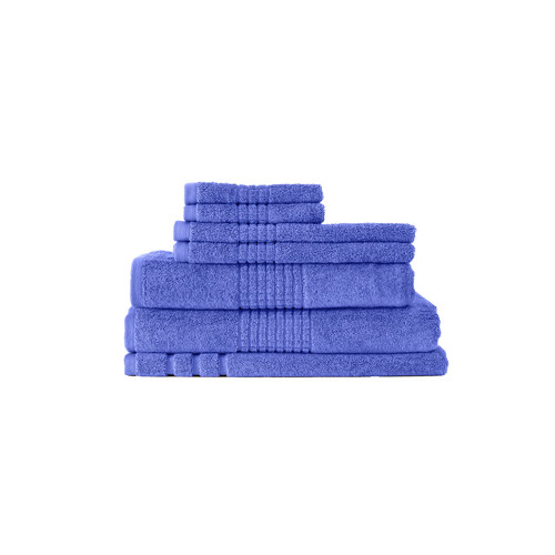 Bella Russo 7 Piece Bella Russo 600 GSM Mosaic Cotton Towel Set
